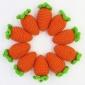 手工钩织毛线小胡萝卜挂件仿真植物手机挂饰包包配饰可定制GG016