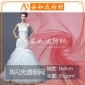 现货供应 涤纶闪光透明网 涤纶网眼布 婚纱女装连衣裙网布