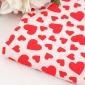 染色爱心梭织提花面料 欧美立体提花布料 衬衫休闲服面料