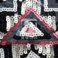 【厂家直销】昊缇新款亮片布料网纱定位绣花蕾丝面料时装礼服面料